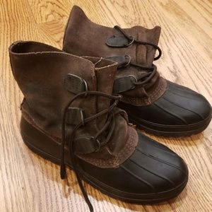 REI Duck Boots, Size 8